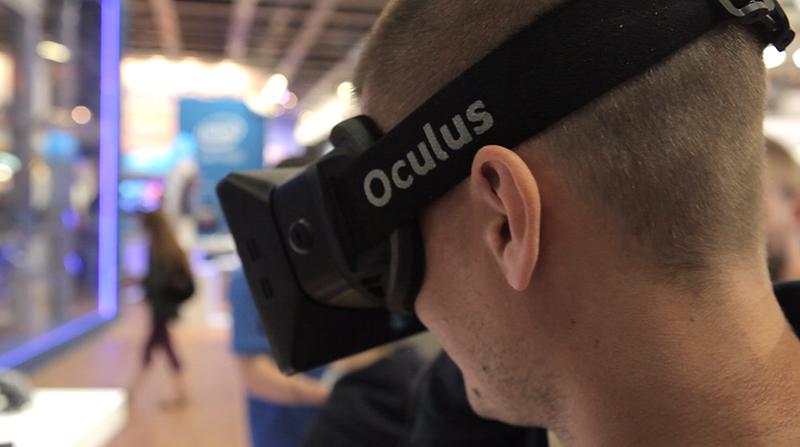 Oculus Rift: gekke gadget