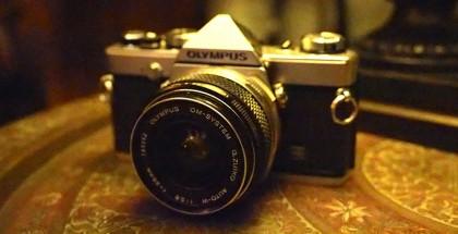 Retro Olympus Camera