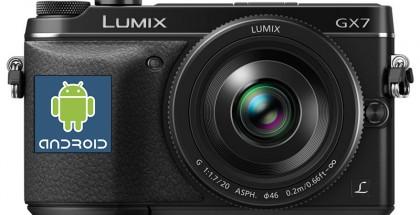 Panasonic Android camera's op komst?