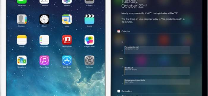 iPad Air en retina Mini laten genoeg ruimte voor geruchten
