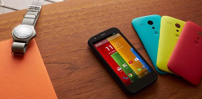 Motorola komt met goedkope G-Unit