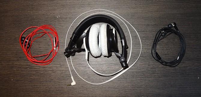 Draadbreuk hoofdtelefoon koptelefoon
