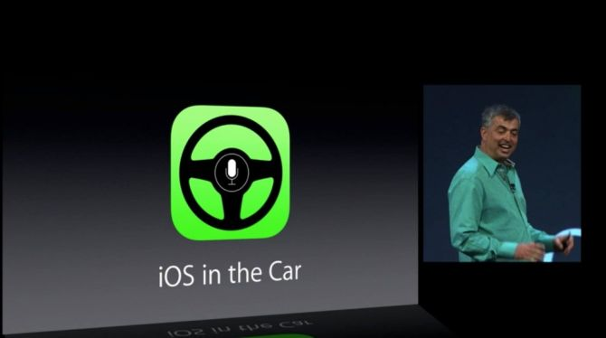 iOS In The Car: liever een flat design dan flat tires