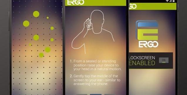 ERGO ontgrendelt je telefoon met… je oor