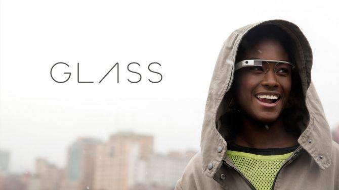 Jezus, die google Glasses kunnen niet eens tegen een beetje regen...