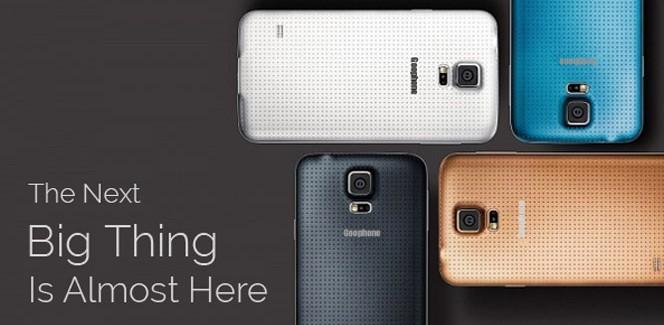 MWC 2014: Goophone knipt en plakt de S5