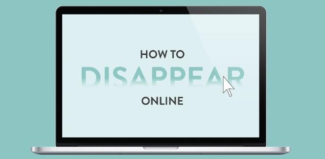 Infographic: hoe verdwijn je van het internet