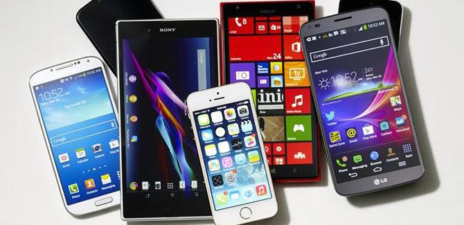 Telefoons worden steeds groter