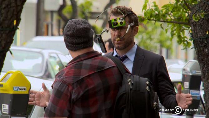 Kijk, zo'n bril zouden wij dan wel weer dragen