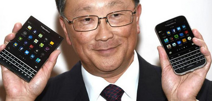 Chen van Blackberry toont de Passport