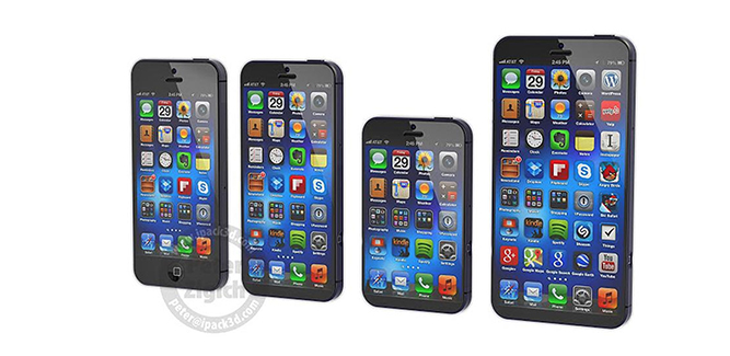 iPhone 6 groter dan iPhone 5s?