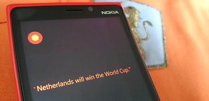 Ok Cortana: wie wint Nederland – Costa Rica?