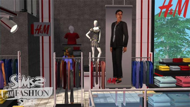 Je kunt nu ook tijdens het gamen niet geholpen worden door chagrijnig winkelpersoneel in een stampvolle, rommelige kledingwinkel.