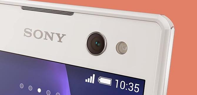Sony Xperia C3 flitst vol in je bek
