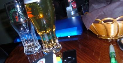 Bier in de kroeg