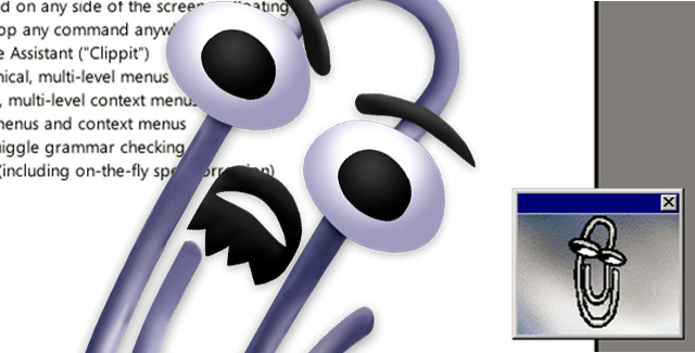 Video's: zo irritant was Clippy