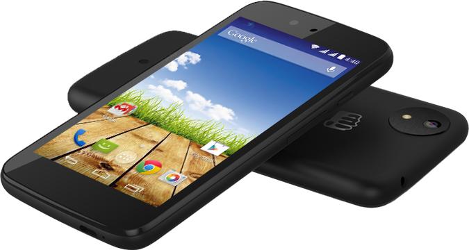 De vermeende Android One van MicroMax. Kijken mag, kopen niet. Tenzij je in India woont.