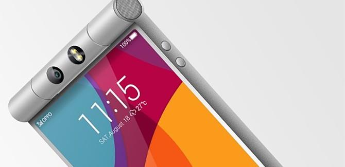 Oppo N3 geeft nieuwe draai aan selfie-smartphone