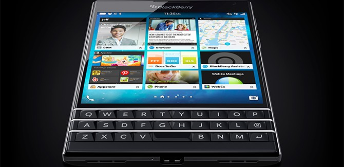 Blackberry Passport officieel; ik lach niet