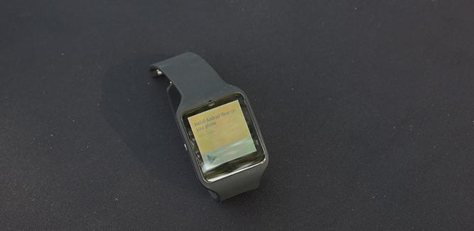 Smartwatch 3 Sony