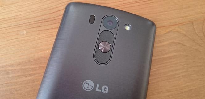 LG G3s achterkant