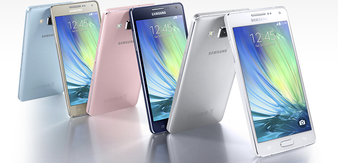 Samsung Galaxy A5 en A3 aangekondigd