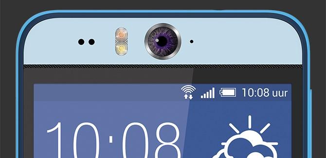 HTC Desire EYE breekt met traditie