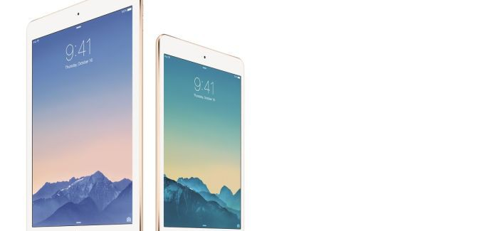 Apple presenteert zoals verwacht iPad Air 2 en iPad Mini 3