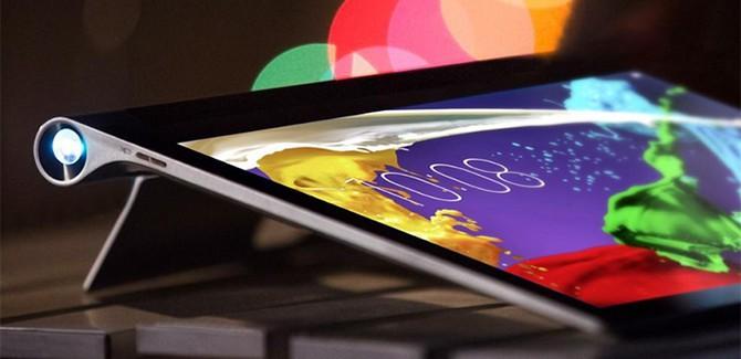 Lenovo's Yoga tablet 2 Pro heeft ingebouwde projector