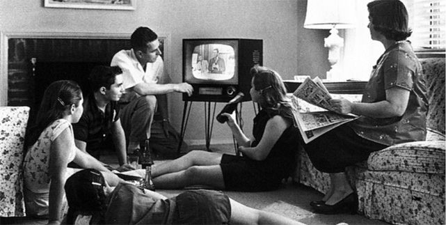Classic tv televisie