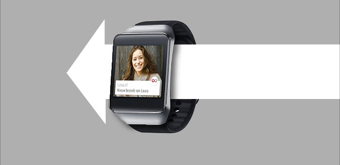 Seks en de smartwatch: dating experts over Android Wear