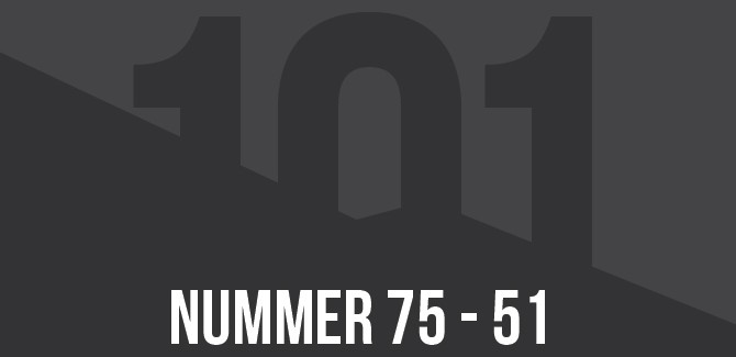 Draadbreuk top 101 van 2014: 75 t/m 51