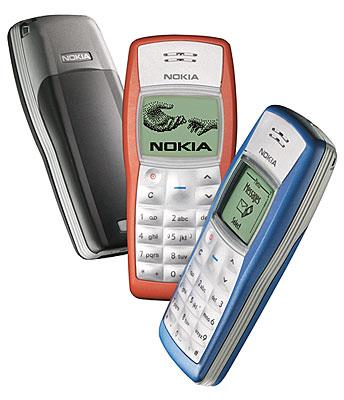 Vroeger waren er telefoons van het merk 'Nokia'. Dat waren nog eens tijden.
