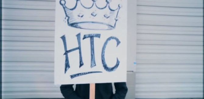 't Wereldje (72) met Twitter en de marketingboys van HTC