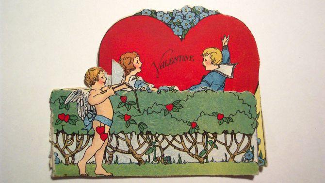 Valentijnsdag voor mannen: een lief kaartje sturen en daarna keihard knallen