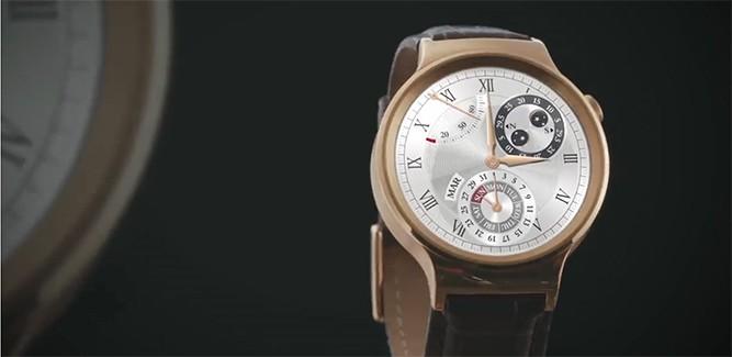 Huawei Watch eindelijk te koop! [IFA 2015]