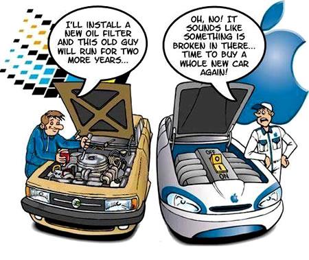 Kijken hoe leuk dit soort grappen nog zijn als we ze komende jaren bij elk iCar-gerucht herhalen.