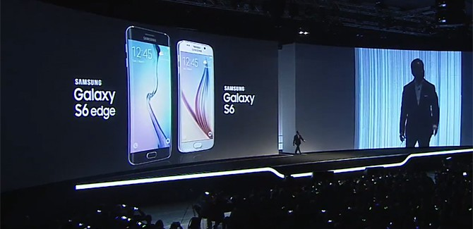 Samsung Galaxy S6 en Galaxy S6 Edge 10 april te koop