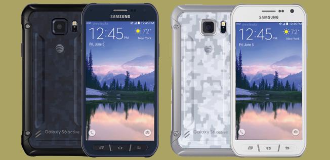 De wandelgangen met Galaxy S6 Active, Sony Xperia Z5 en iPhone 6S