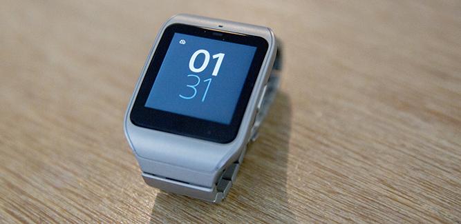 Display Sony Smartwatch 3