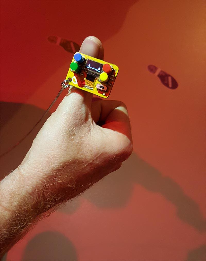 De kleinste gameboy ter wereld.