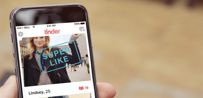 Tinder komt met 'Superlike': wat is het?