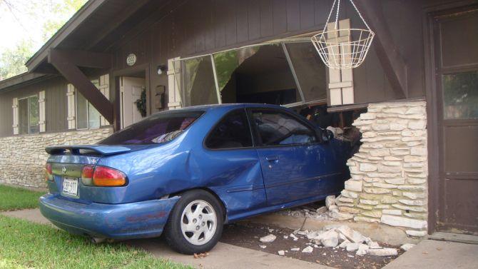 De slimme auto nam de spraakopdracht 'naar huis' ineens wel heel serieus.