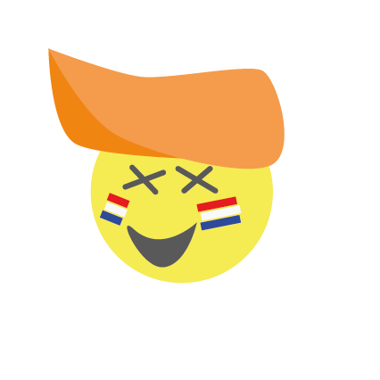 Hup holland emoji