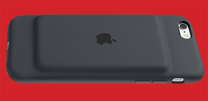 Apple's Smart Battery Case geeft iPhone 6S bochel en onderkin