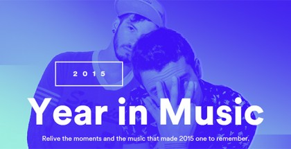 Spotify #yearinmusic 2015