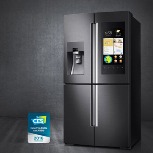 fridge fight samsung en lg tonen smart koelkast. Black Bedroom Furniture Sets. Home Design Ideas