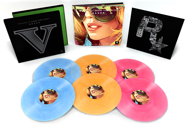 gta v soundtrack vinyl