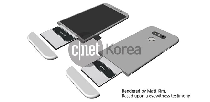 LG G5 render