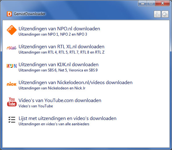 RTL XL kijken in het buitenland - gemistdownloader 1